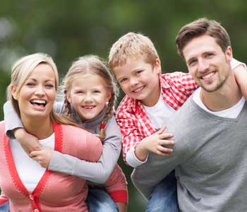 Cosmetic family dentistry is available in Hanford